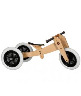 Triciclo Evolutivo de Madera 3en1 Wishbone