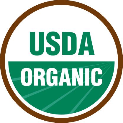 sello certificado usda organic