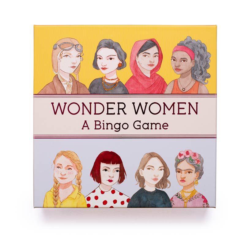 Juego de Mesa - Wonder Women Bingo