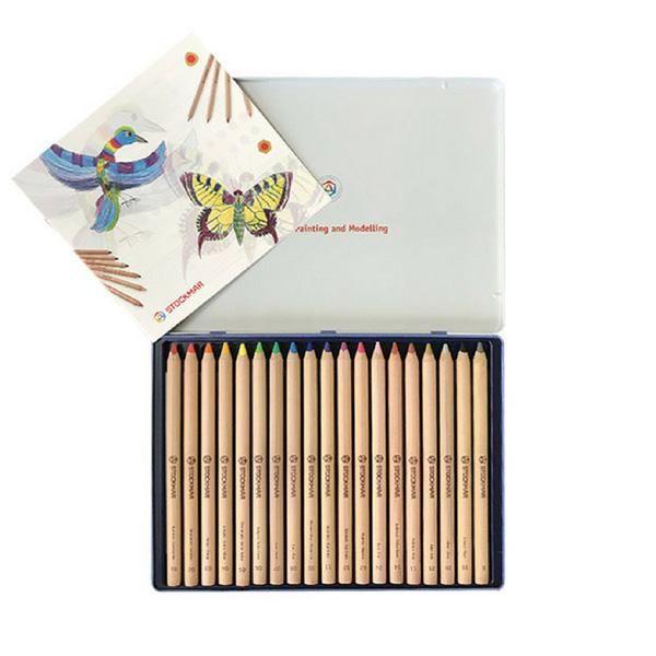 Lápices de Madera 12 colores Waldorf - Stockmar