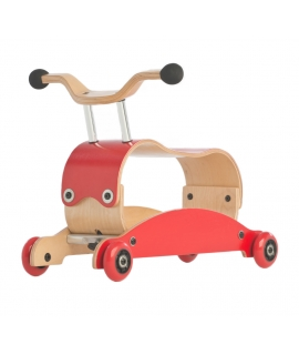 Mini Flip Wishbone 3en1 - Red