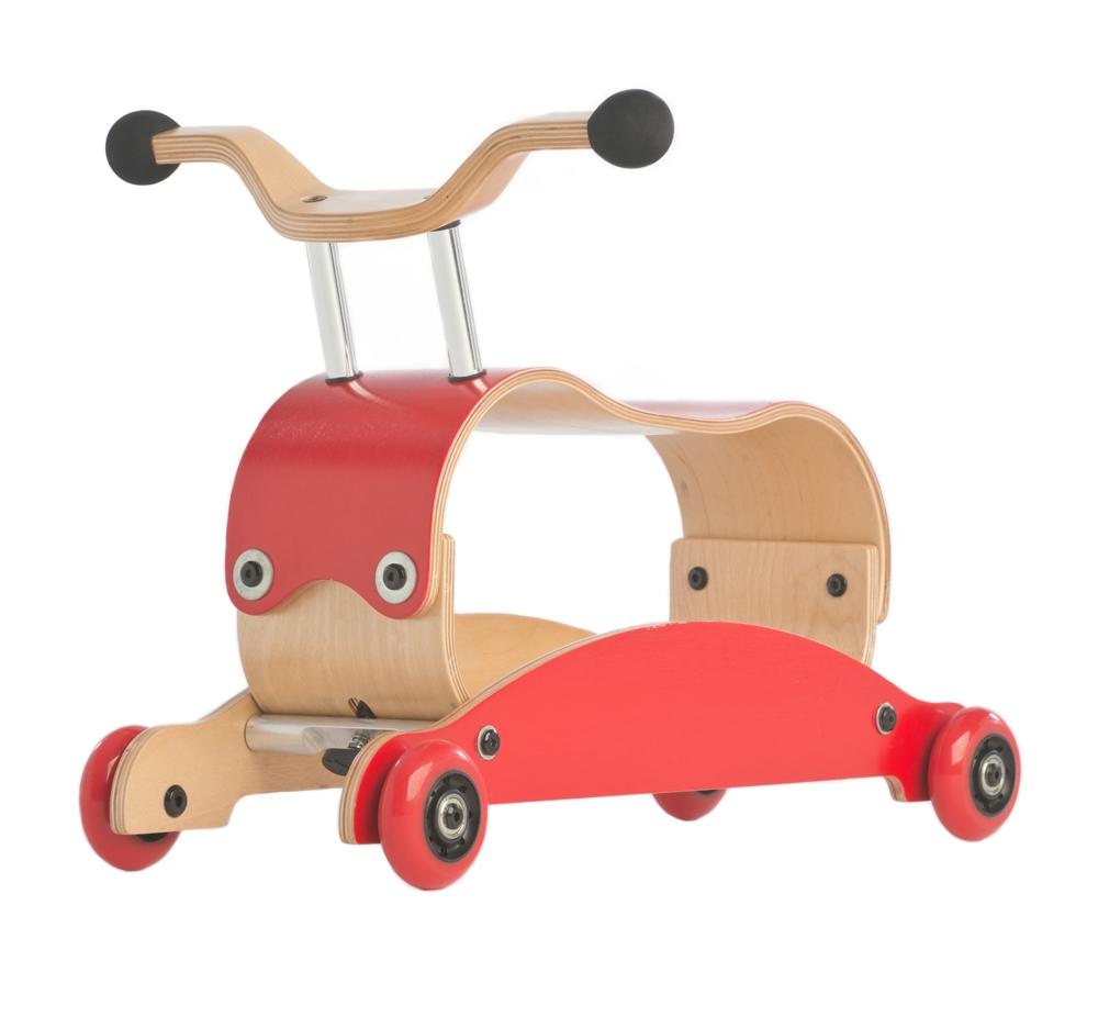 Mini Flip Wishbone 3en1 - Red