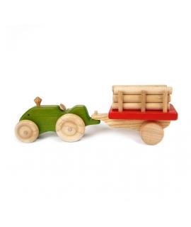 Tractor con Troncos