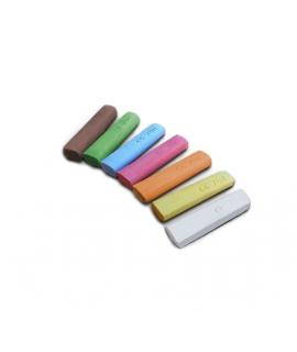 Tizas para Pizarra Ecológicas - Pack 7 Colores