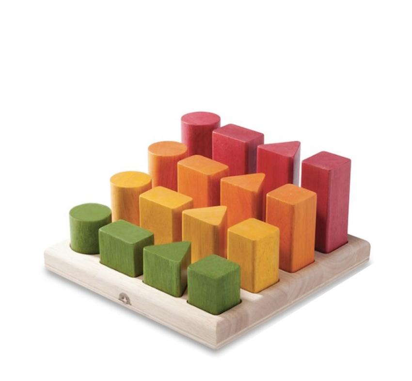 Tablero de Secuencias Formas y Colores