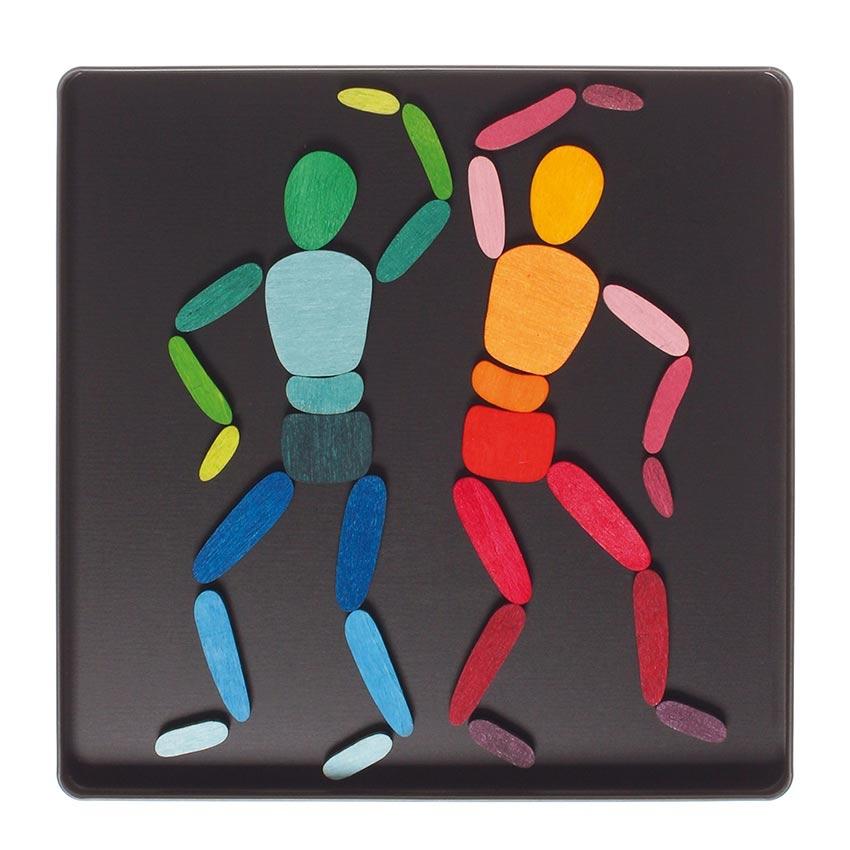 Puzzle Magnético Figuras Humanas