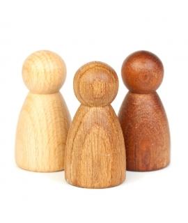 3 Nins de 3 Maderas de Grapat