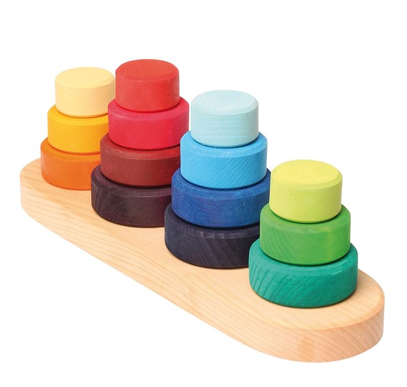 Torres de Encaje de Colores