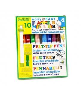 Rotuladores Ecológicos para Bebés - Pack 10 Colores