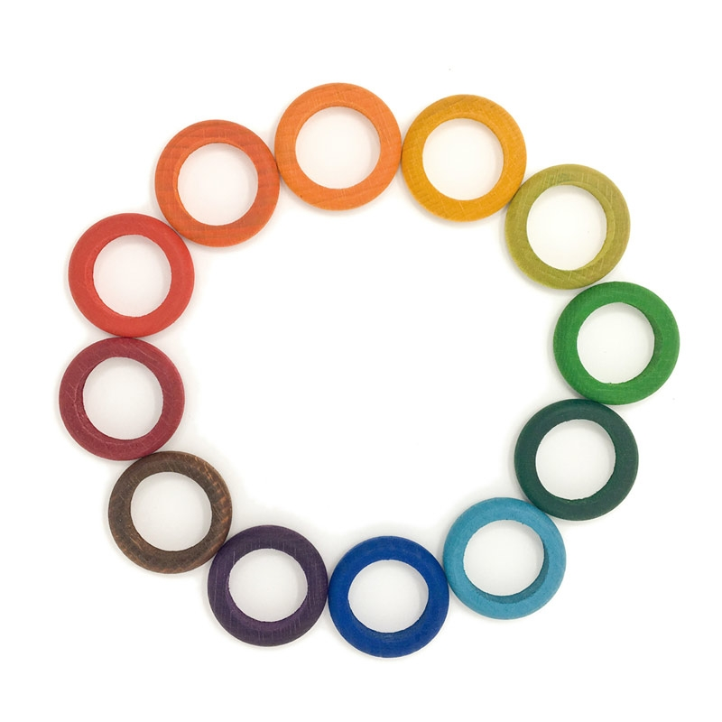 12 Anillas de 12 Colores - Grapat
