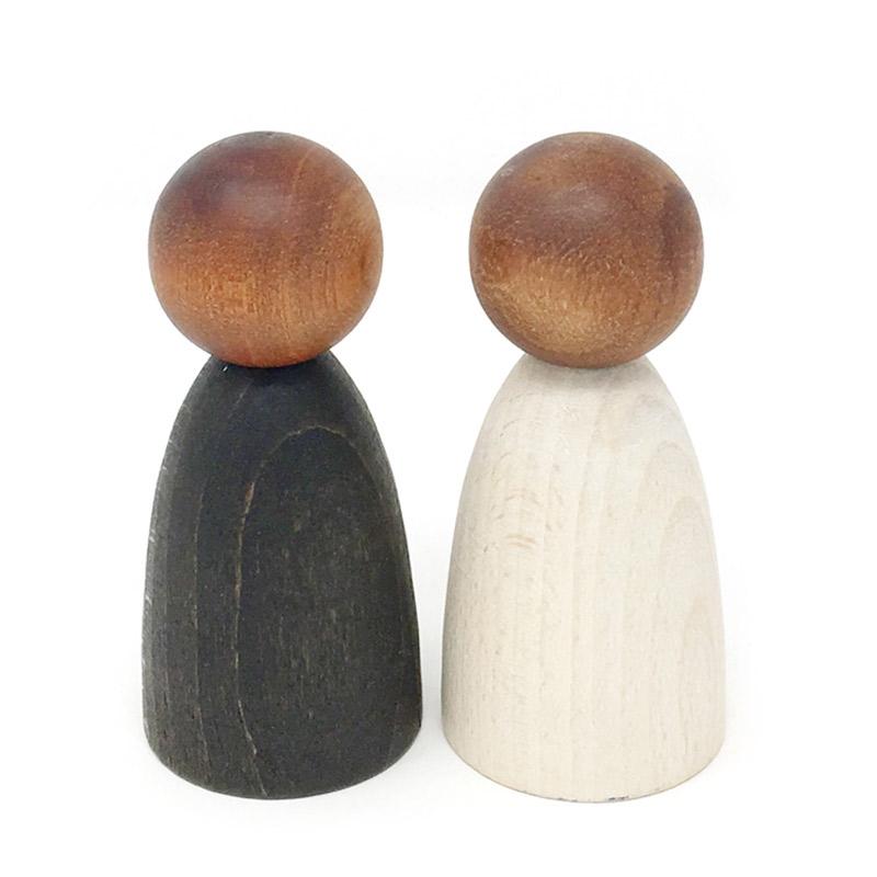 Nins® Adultos de Madera Oscura - Grapat