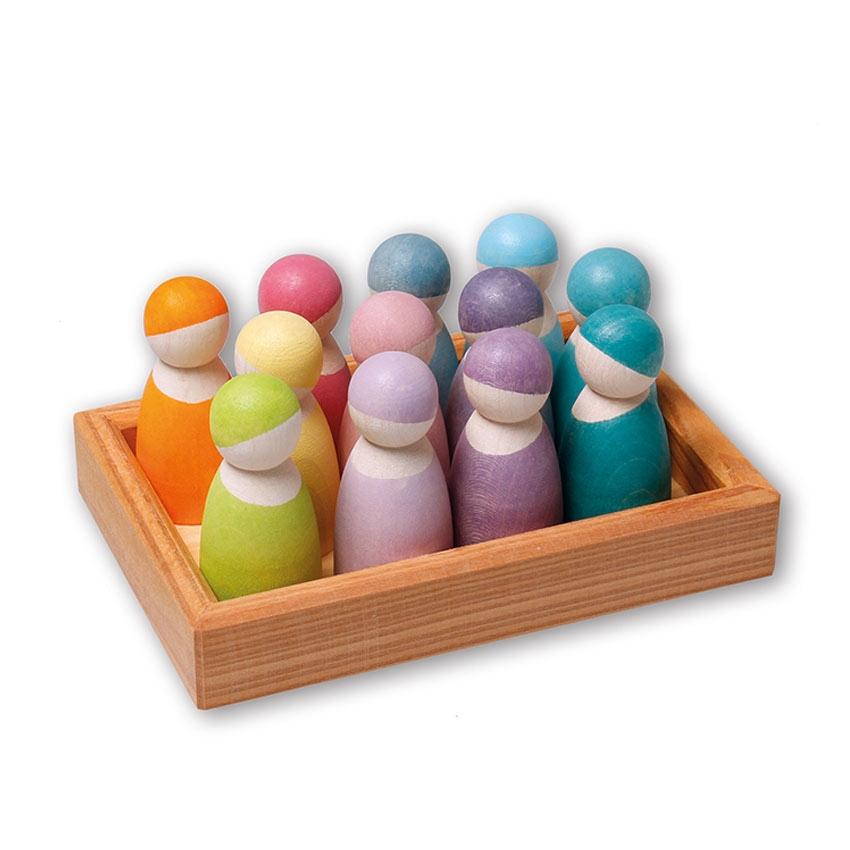 12 Muñecos Pastel