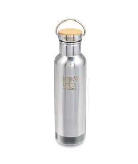 Botella Térmica Inox 592 ml Klean Kanteen - Bamboo Cap