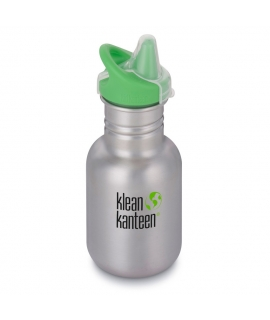 Botella Inox 355 ml Klean Kanteen Sippy Cap - Brushed