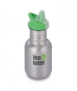 Botella Inox 355 ml Klean Kanteen Sippy Cap - Plateada