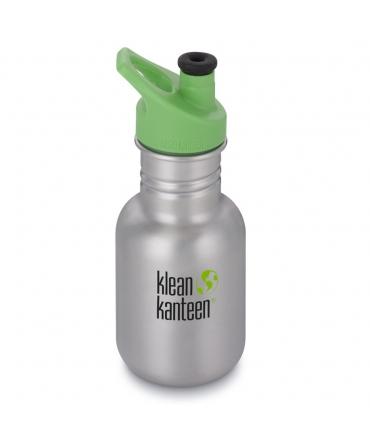 Botella Inox 355 ml Klean Kanteen Sport Cap - Plateada