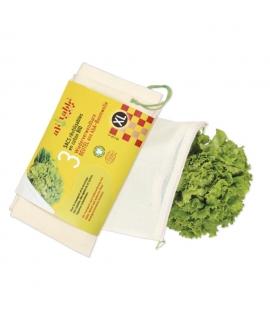 3 Bolsas Reutilizables Tamaño XL para Comprar a Granel