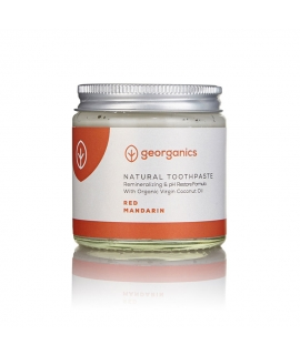 Dentífrico Remineralizante con Aceite de Coco y Mandarina 120 ml