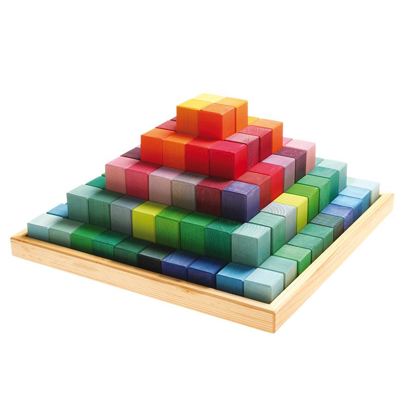 Pirámide de Bloques - Grande