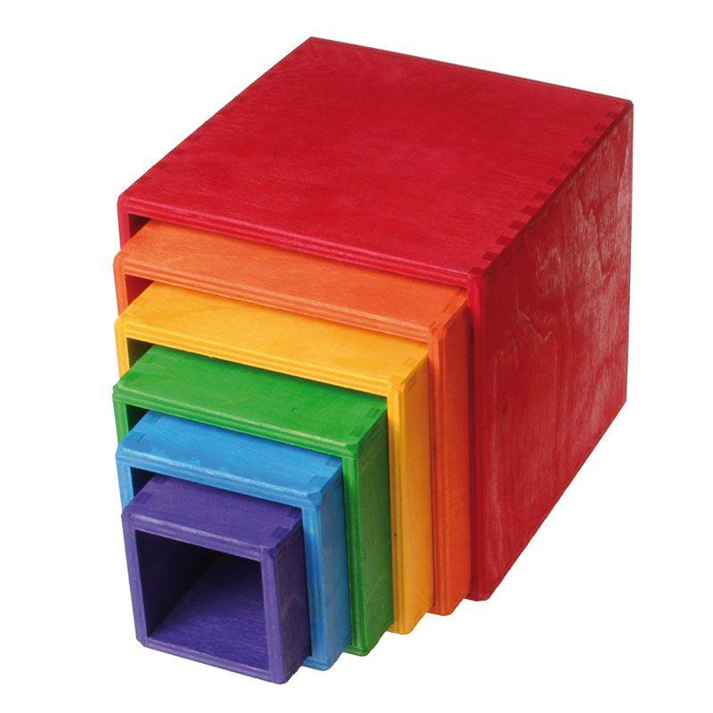 Cubos Apilables y Encajables