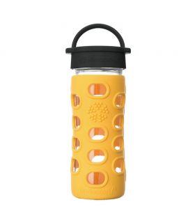 Botella de Vidrio Lifefactory 350 ml - Marigold