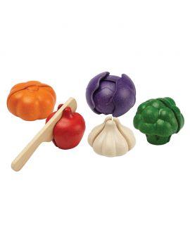 Set de Verduras de 5 Colores