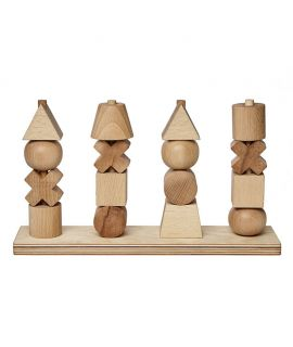 Apilable de Formas XL Natural - Wooden Story