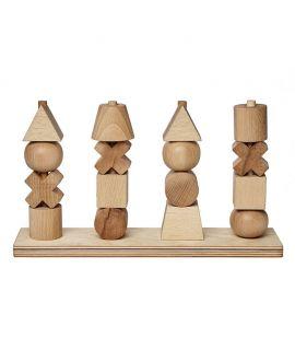 Apilable de Formas XL Natural - Wooden Story