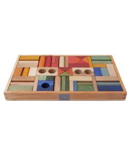 Bloques Rainbow 54 piezas - Wooden Story