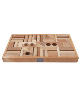 Bloques Naturales 54 piezas - Wooden Story