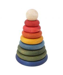 Torre de Encaje Rainbow - Wooden Story