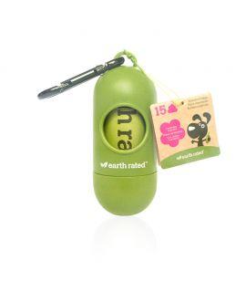 Recambio 8 rollos x 15 bolsas Earth Rated - Sin perfume