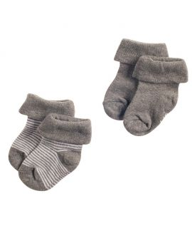 Pack de 2 pares de Calcetines Melange - Noppies