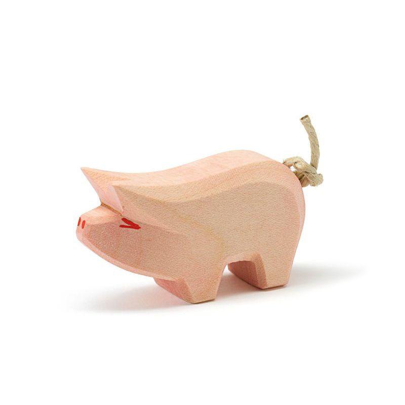 Cerdo Pequeño de Madera - Ostheimer