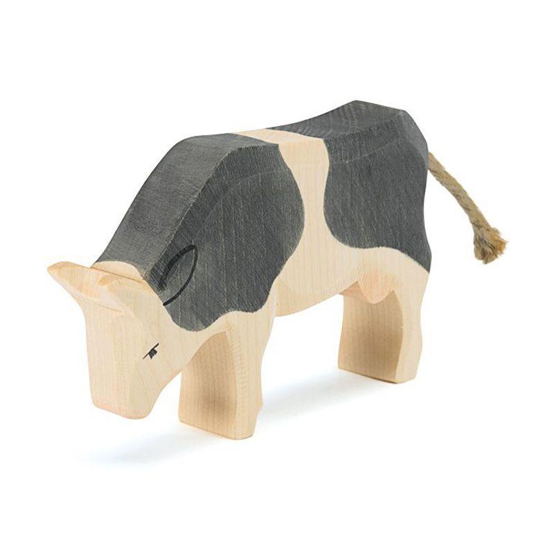 Vaca Comiendo de Madera - Ostheimer