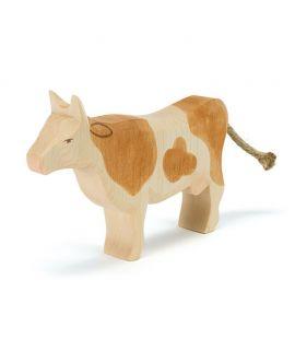 Vaca Marrón de Madera - Ostheimer