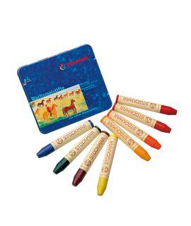 Lápices de Cera Waldorf 8 colores - Stockmar