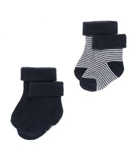 Pack de 2 pares de Calcetines Navy- Noppies