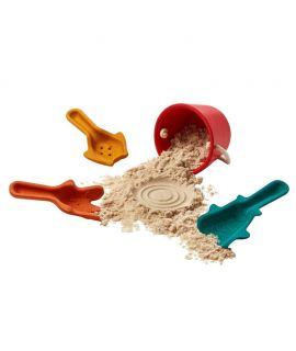 Set de Cubo y Palas para la Playa - Plan Toys