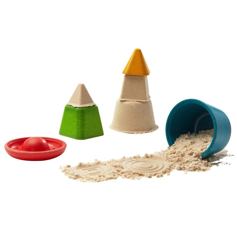 Set de Moldes para jugar con Arena - Plan Toys