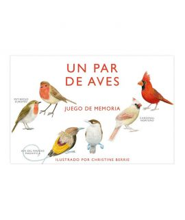 Juego de Cartas - Un par de Aves