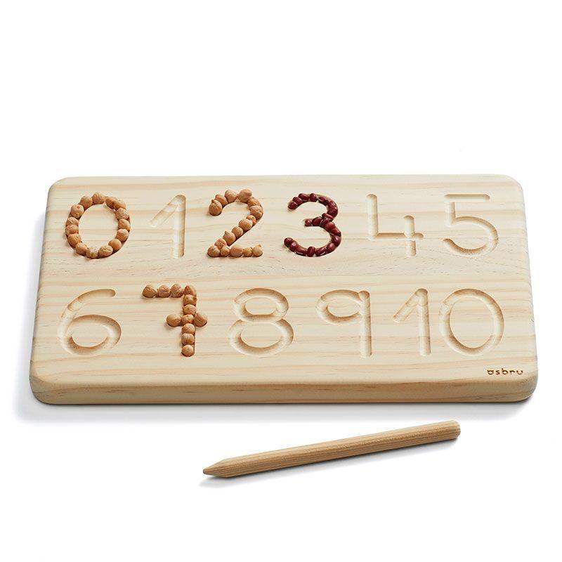 Tabla Numeral Grafomotricidad - Ösbru