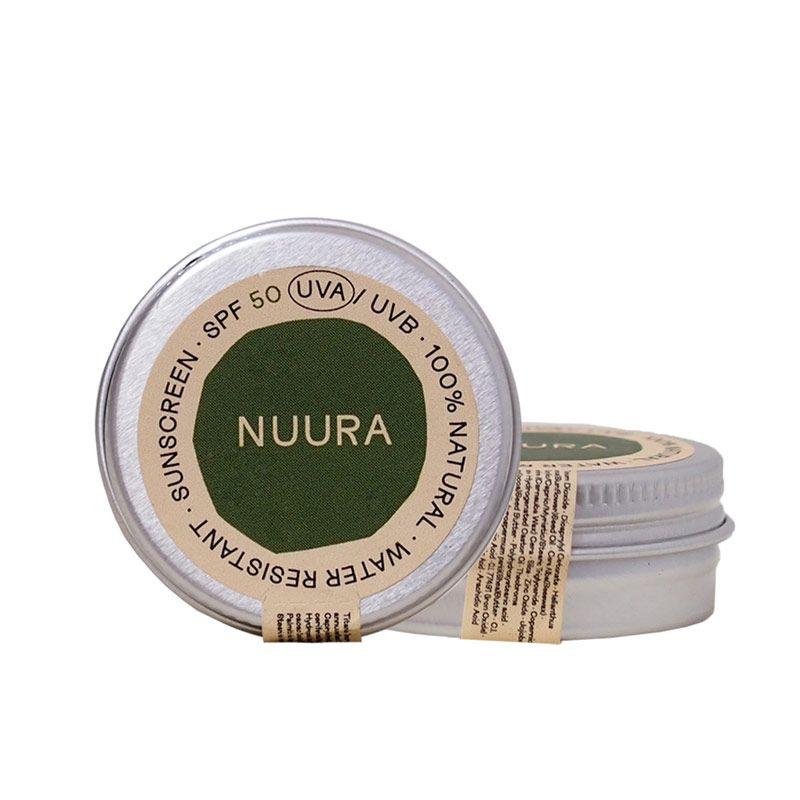 Protector Solar Facial Sólido 50spf 18 ml - NUURA