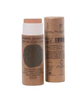 Protector Solar Facial en Barra con COLOR 50spf 18 ml - NUURA