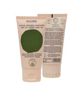 Protector Solar Facial con COLOR 50spf 50 ml - NUURA