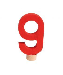 Número 9 Figura para el Anillo de Celebraciones - Grimm's