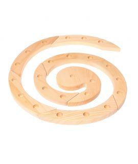 Espiral de Celebraciones Waldorf de Madera Natural - Grimm's