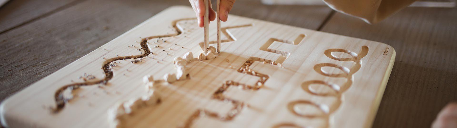 Juguetes Montessori - Aúpa Organics